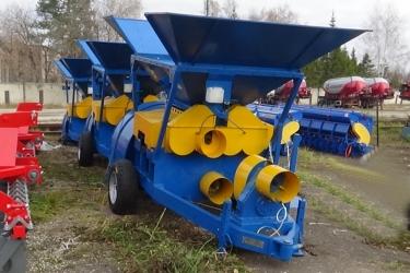 Плющилка влажного зерна ПЗ-30